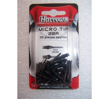 """Pointes """"Micro""""-par paquet de 50-Micro-Noir"""
