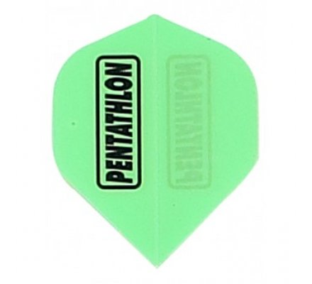 Ailette de flechettes standard FLUO Verte PE010