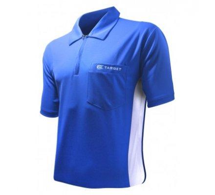 Polo Cool Play Target Bleu/Blanc