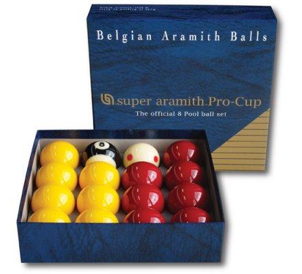 Jeu de billes de billard pool anglais (50.8) Aramith Pro Cup A112A