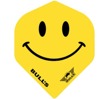 Lot de 3 ailettes pour jeux de fléchettes Bull's Smiley B0045
