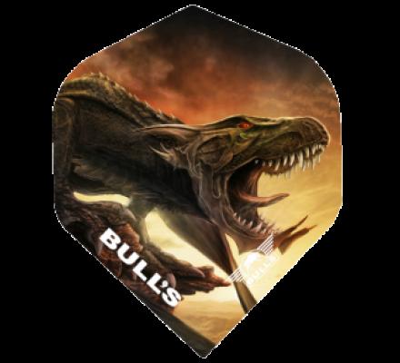Lot de 3 ailettes pour jeux de fléchettes Bull's Raptor B0058