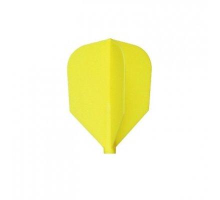 Ailettes fit flight shape Jaune 285