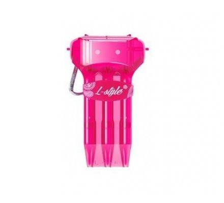 Etui pour jeux de fléchettes L-Style krystal One Pink
