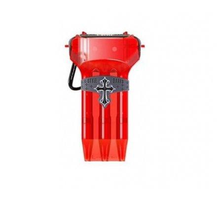 Etui pour jeux de fléchettes L-Style krystal One Rouge