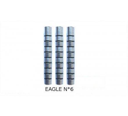 Fûts de flechettes Eagle n°6 16gr