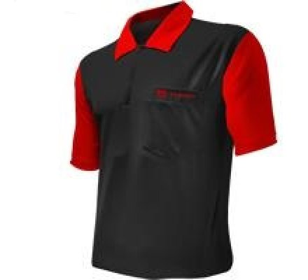 Polo Cool Play 2 Target Noir/Rouge Taille L