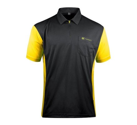 Polo Cool Play 3 Target Steel Noir / Jaune T29