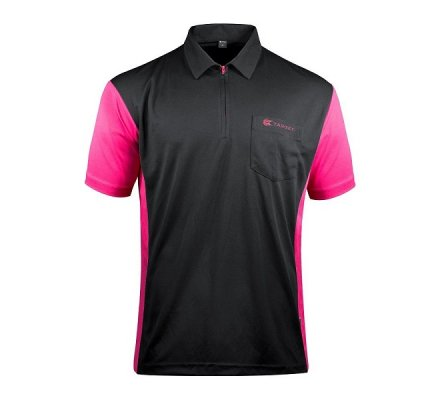 Polo Cool Play 3 Target Steel Noir / Pink T30