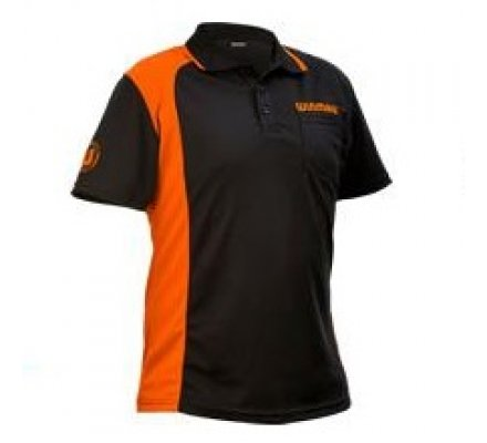 Polo Winmau WinCool  Noir/Orange
