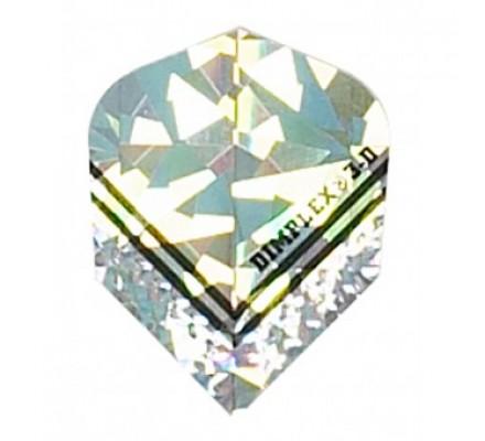 Ailette standard BRILLANT ARGENT CD05