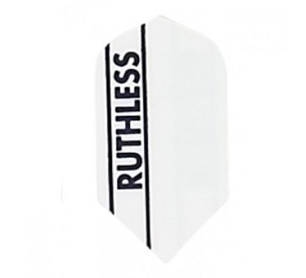 Ailette étroite RUTHLESS PLEINE BLANC R761