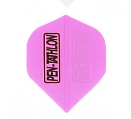 Ailette de flechettes standard FLUO Rose PE011
