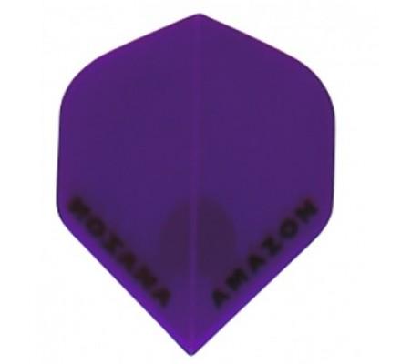 Ailette de flechettes Amazon Slim Transparente Poupre TR97