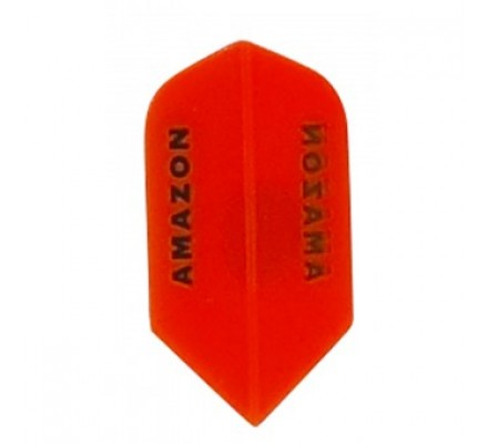 Ailette de flechettes Amazon Slim Transparente Orange TR95