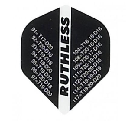 Lot de 3 ailettes standard RUTHLESS ANTISECHE 301 R821
