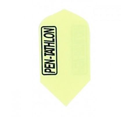 Ailette de jeux de flechettes Pentathlon PE208 FLUO VERT