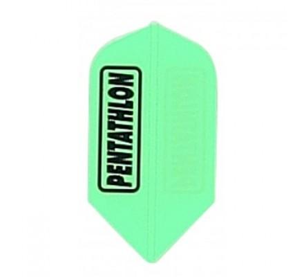 Ailette de jeux de flechettes Pentathlon PE206 JAUNE FLUO