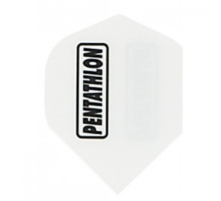 Ailette de flechettes standard Pentathlon Blanc PE001
