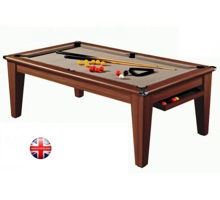 billard table convertible en pool york 7ft chne fonc - Billard Table Convertible