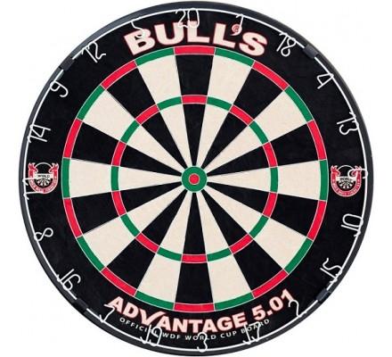 Cible de fléchettes Bulls Advantage 5.01 EA035