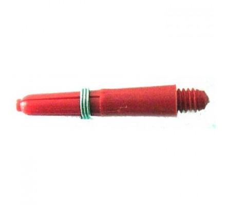 Lot de 3 tiges Nylon Plus-Rouge-Extra Court N014