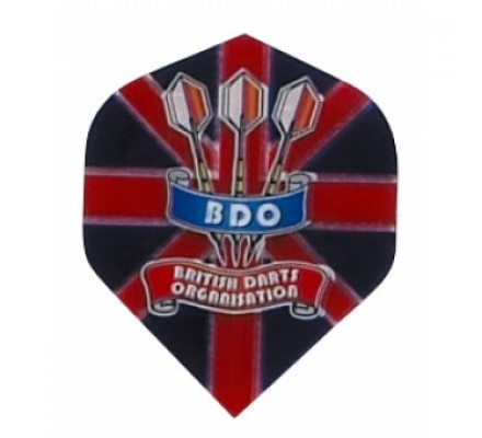 Ailette de flechettes standard UNION JACK BDO P111